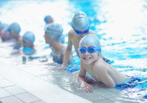Fortgeschrittenen Schwimmen